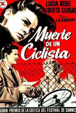 Постер фильма Смерть велосипедиста (1955)