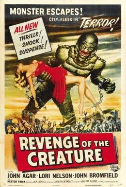 Постер фильма Месть твари (1955)