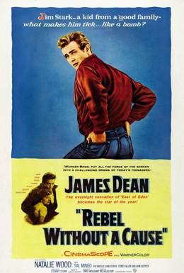 Постер фильма Бунтарь без идеала (1955)