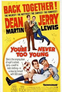 Постер фильма Нельзя быть слишком молодым (1955)