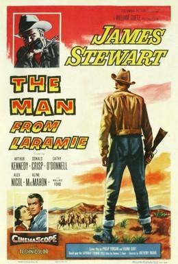 Постер фильма Человек из Ларами (1955)