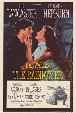 Постер фильма Продавец дождя (1956)