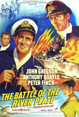 Постер фильма Битва у Ла-Платы (1956)
