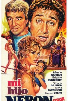 Постер фильма Любовница Нерона (1956)