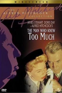 Постер фильма Человек, который слишком много знал (1956)