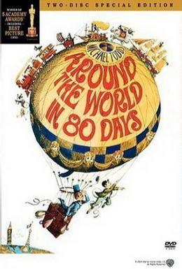 Постер фильма Вокруг Света за 80 дней (1956)