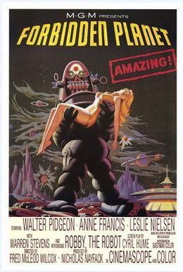 Постер фильма Запретная планета (1956)
