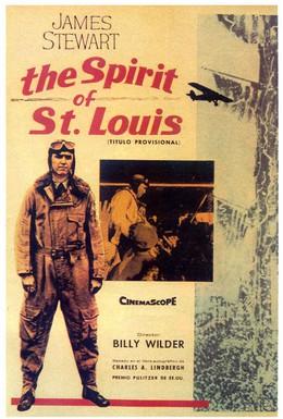 Постер фильма Дух Сент-Луиса (1957)