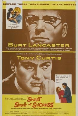 Постер фильма Сладкий запах успеха (1957)