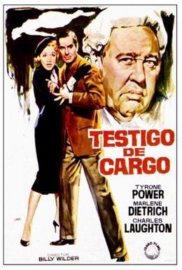 Постер фильма Свидетель обвинения (1957)