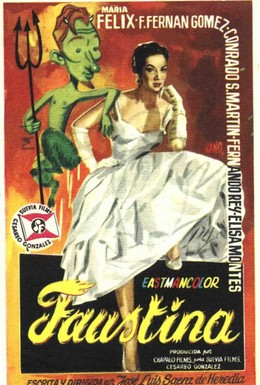 Постер фильма Фаустина (1957)