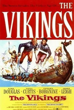 Постер фильма Викинги (1958)