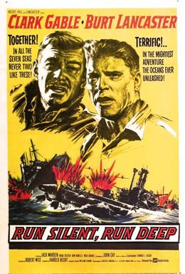 Постер фильма Идти тихо, идти глубоко (1958)