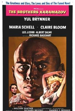 Постер фильма Братья Карамазовы (1958)