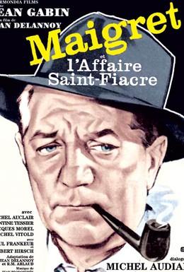 Постер фильма Мегрэ и дело Сен-Фиакр (1959)