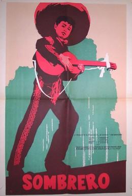 Постер фильма Сомбреро (1959)