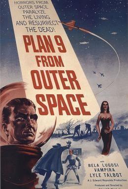 Постер фильма План 9 из открытого космоса (1959)