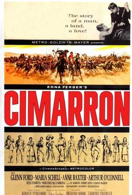 Постер фильма Симаррон (1960)