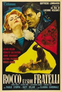Постер фильма Рокко и его братья (1960)
