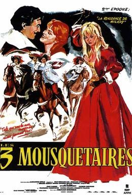 Постер фильма Три мушкетера: Подвески королевы (1961)