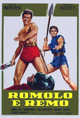 Постер фильма Ромул и Рем (1961)