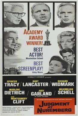 Постер фильма Нюрнбергский процесс (1961)