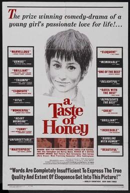 Постер фильма Вкус меда (1961)