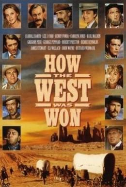 Постер фильма Война на Диком Западе (1962)
