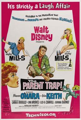Постер фильма Ловушка для родителей (1961)