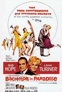 Постер фильма Холостяк в раю (1961)