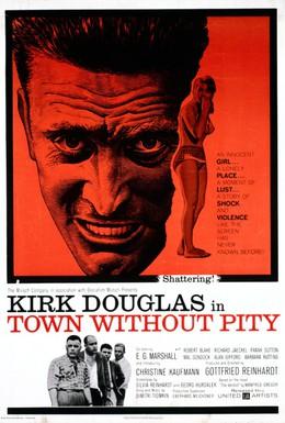 Постер фильма Безжалостный город (1961)