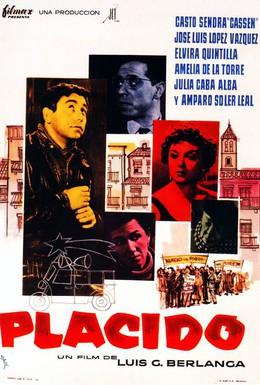 Постер фильма Пласидо (1961)