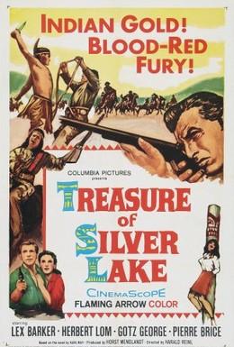 Постер фильма Сокровище Серебряного озера (1962)
