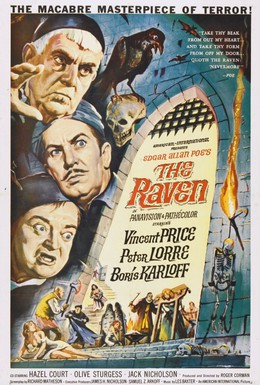 Постер фильма Ворон (1963)