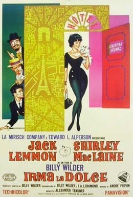 Постер фильма Нежная Ирма (1963)