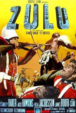 Постер фильма Зулусы (1964)