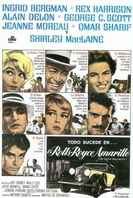 Постер фильма Желтый роллс-ройс (1964)