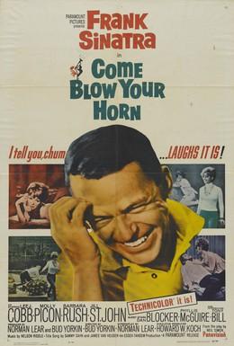 Постер фильма Приди и протруби в свой рог (1963)
