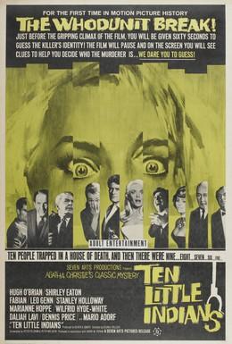 Постер фильма Десять негритят (1965)