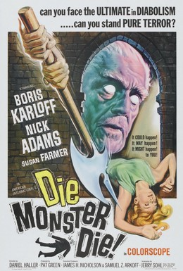 Постер фильма Умри, монстр, умри! (1965)