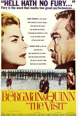 Постер фильма Визит (1964)