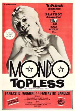 Постер фильма Мир топлесс (1966)