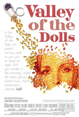 Постер фильма Долина кукол (1967)