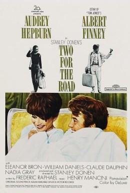 Постер фильма Двое в пути (1967)