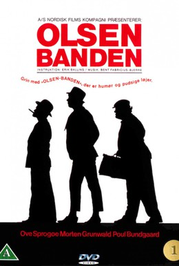 Постер фильма Банда Ольсена (1968)