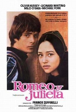 Постер фильма Ромео и Джульетта (1968)