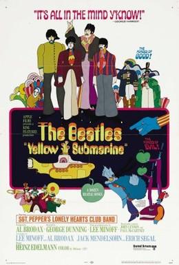 Постер фильма The Beatles: Желтая подводная лодка (1968)