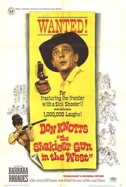 Постер фильма Дантист на диком западе (1968)