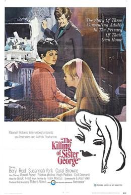 Постер фильма Убийство сестры Джордж (1968)