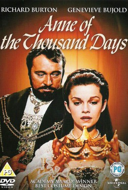 Постер фильма Тысяча дней Анны (1969)